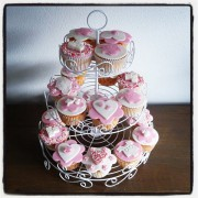 Hartjes cupcakes