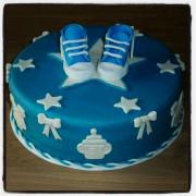 Hoera een jongetje taart