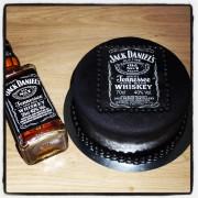 Jack Daniels taart