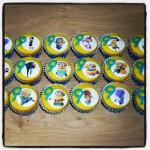 Minion Mini Cupcakes