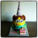 Minion taart 3