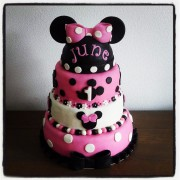 Minnie Mouse taart 2