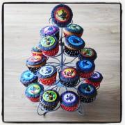 Skylander Mini Cupcakes
