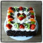 Slagroom taart