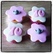 Thee Mini Cupcakes
