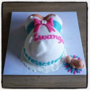 Zwangerschap taart