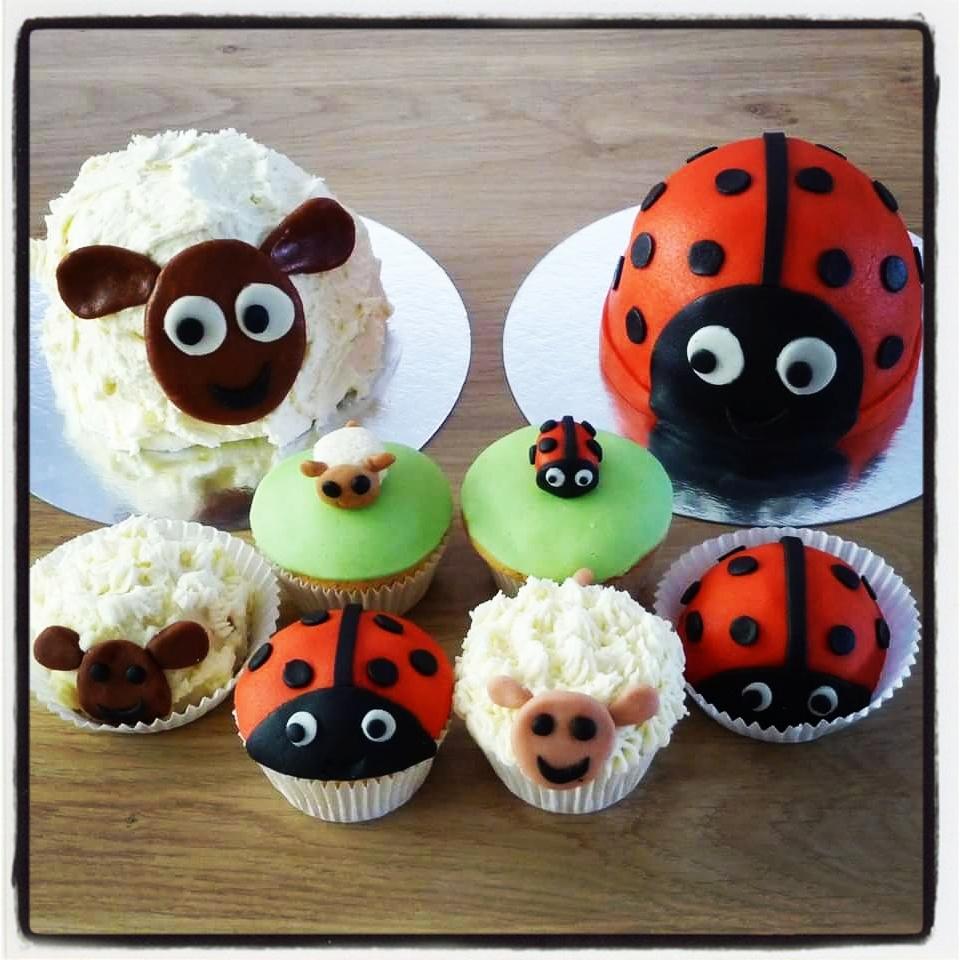 Voorjaars Cupcakes